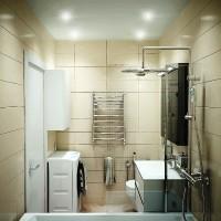 плитка для маленькой ванной комнаты дизайн фото 9