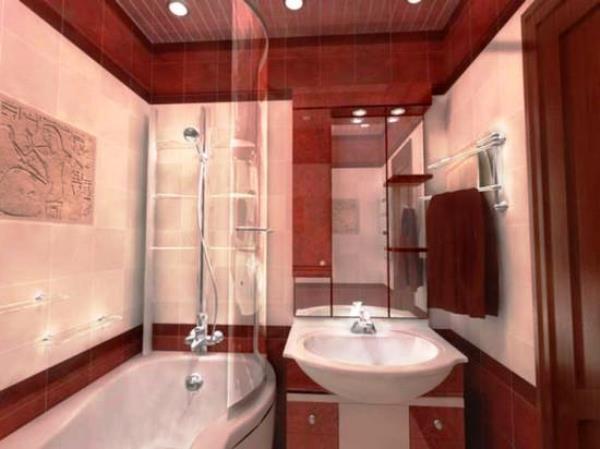 плитка для маленькой ванной комнаты фото 10