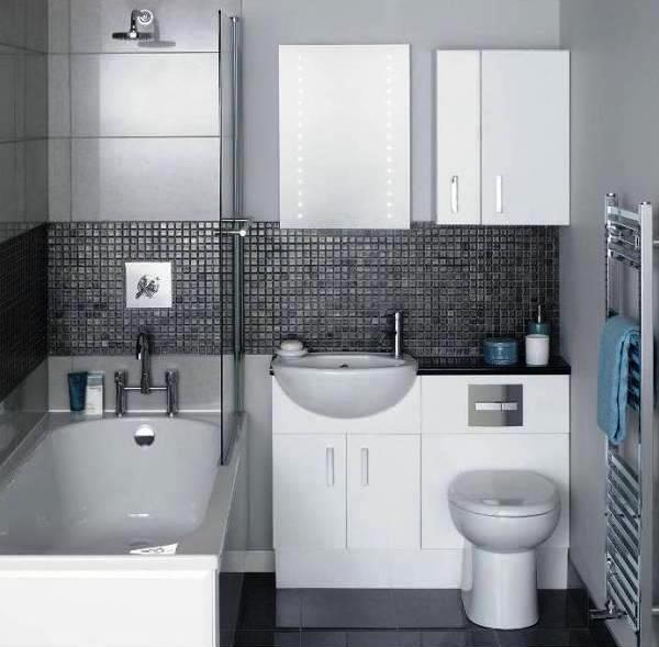 плитка для маленькой ванной комнаты фото 11
