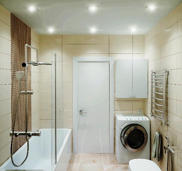 плитка для маленькой ванной комнаты фото 12