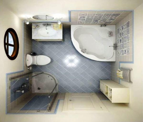 плитка для маленькой ванной комнаты фото 3