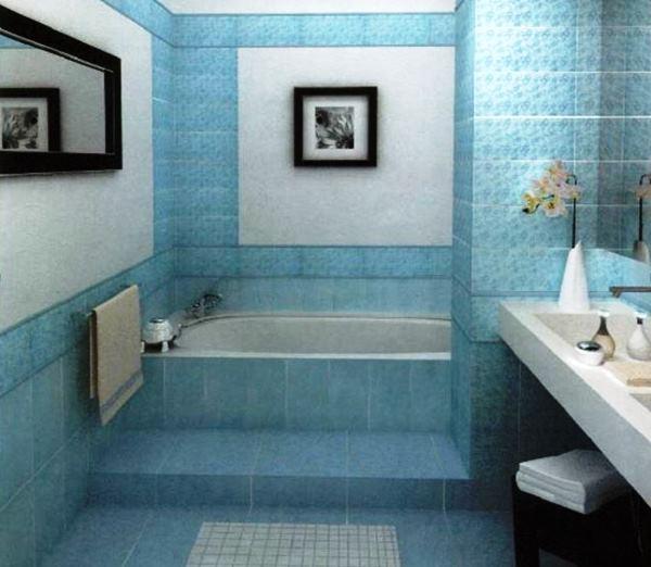 плитка для маленькой ванной комнаты фото 6