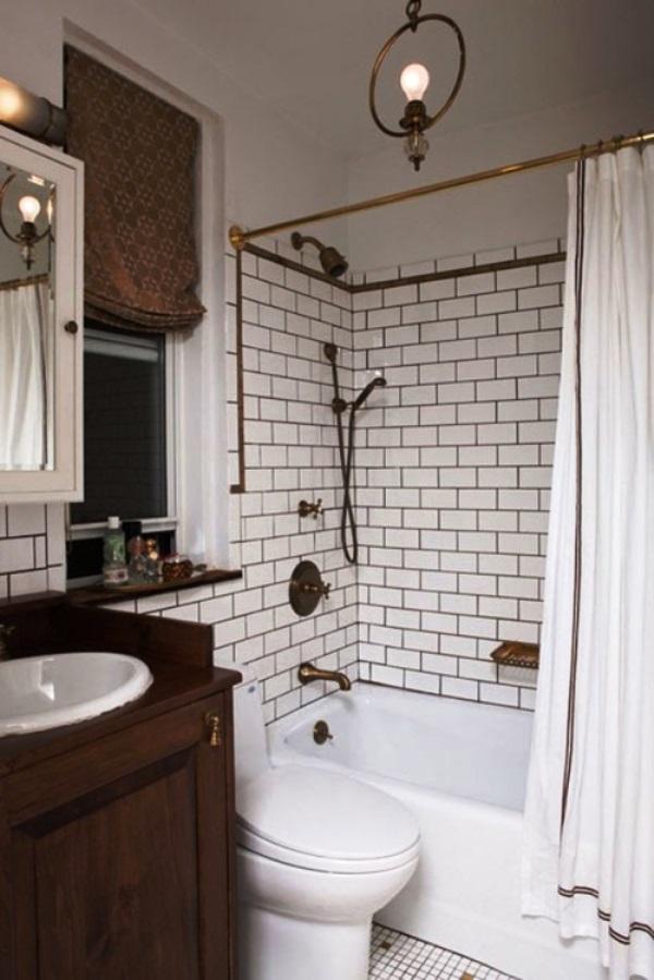 плитка для маленькой ванной комнаты фото 8