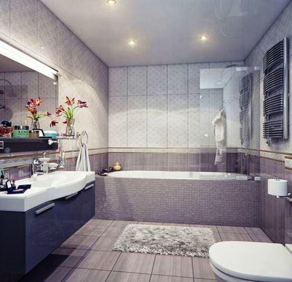 плитка для маленькой ванной комнаты фото