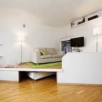 подиумные кровати фото 41