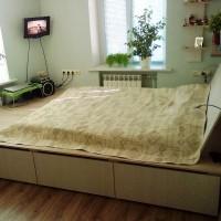 подиумные кровати фото 51