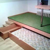подиумные кровати фото 52
