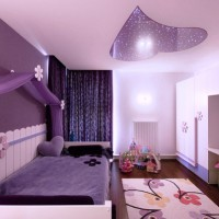 сиреневая спальня фото 32
