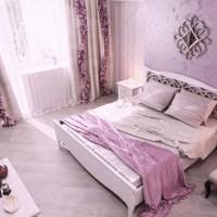 сиреневая спальня фото 42