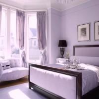 сиреневая спальня фото 8