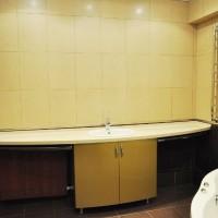ванная в бежевых тонах фото 23