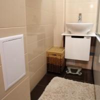 ванная в бежевых тонах фото 29