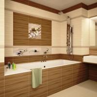 ванная в бежевых тонах фото 33
