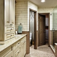 ванная в бежевых тонах фото 38