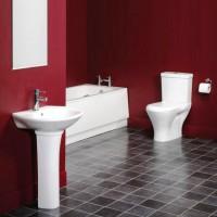 бордовая ванная фото 31