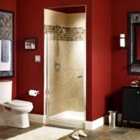 бордовая ванная фото 36
