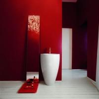 бордовая ванная фото 44