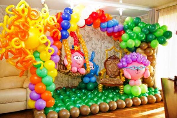 украшение детского праздника своими руками фото 9