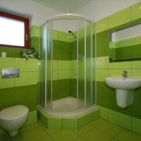 зеленая ванная комната фото 27