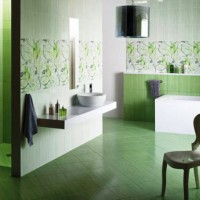 зеленая ванная комната фото 28