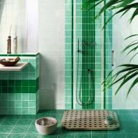 зеленая ванная комната фото 36