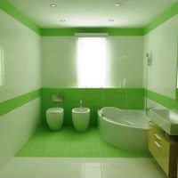 зеленая ванная комната фото 41