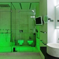 зеленая ванная комната фото 48