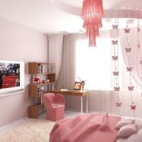 детская комната для девочки подростка фото 12