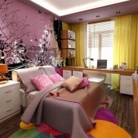 детская комната для девочки подростка фото 15