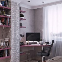 детская комната для девочки подростка фото 18