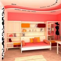 детская комната для девочки подростка фото 39