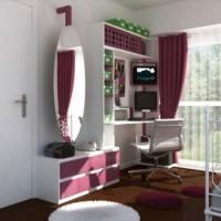 детская комната для девочки подростка фото 41