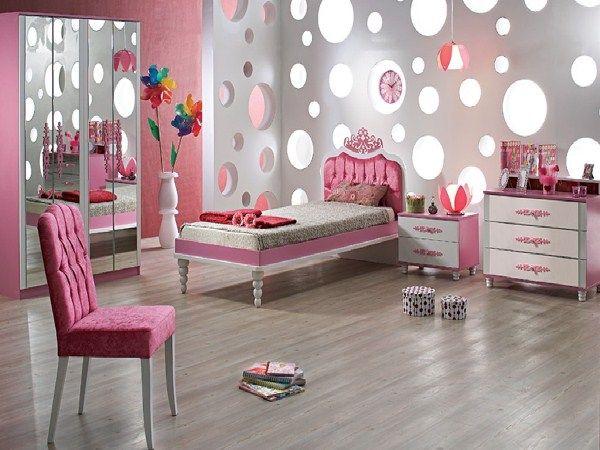 дизайн спальни для девочки подростка фото