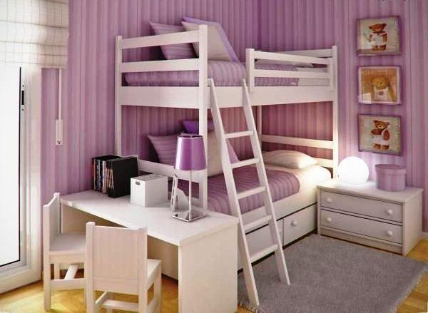 интерьер подростковой комнаты для девочек фото 2