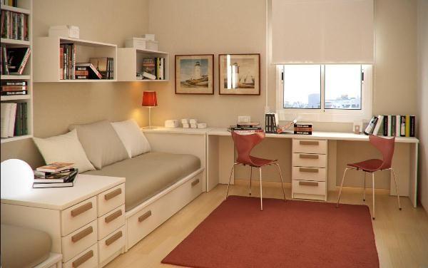 интерьер подростковой комнаты для девочек фото 3
