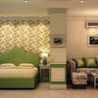 зонирование комнаты на спальню и гостиную фото 14