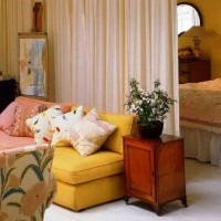 зонирование комнаты на спальню и гостиную фото 39