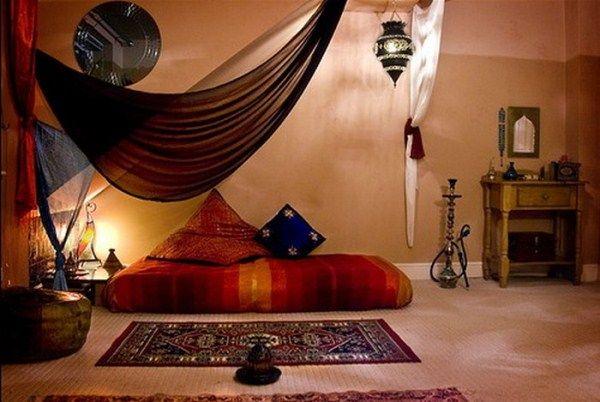 спальня в восточном стиле фото 12