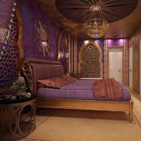 спальня в восточном стиле фото 15