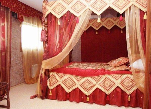 спальня в восточном стиле фото 17