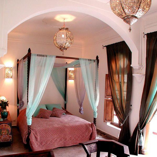 спальня в восточном стиле фото 2