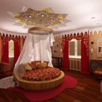 спальня в восточном стиле фото 21