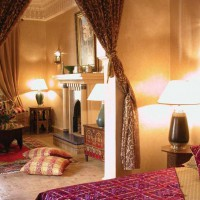 спальня в восточном стиле фото 34