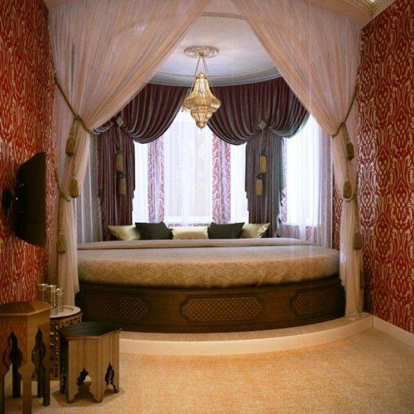 спальня в восточном стиле фото 36