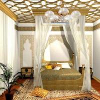 спальня в восточном стиле фото 42