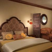 спальня в восточном стиле фото 43