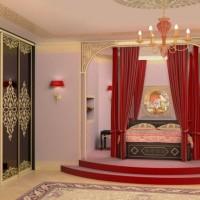спальня в восточном стиле фото 44