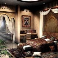 спальня в восточном стиле фото 46
