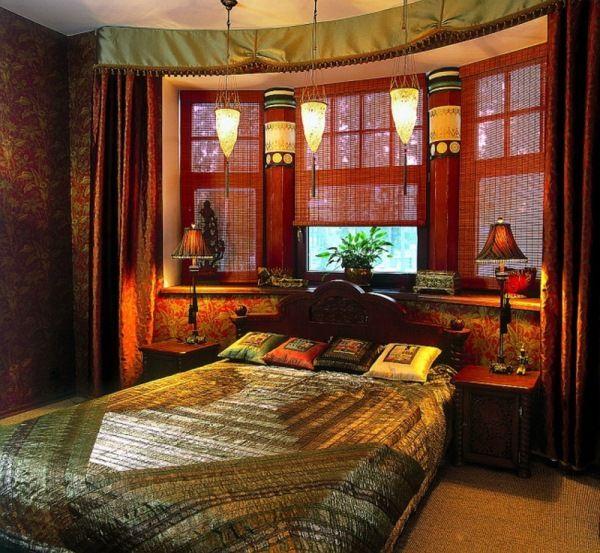 спальня в восточном стиле фото 49