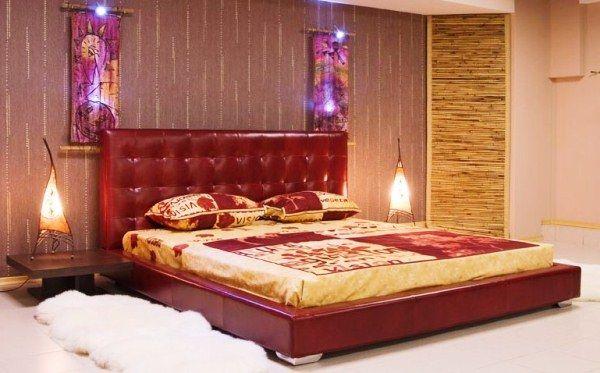 спальня в восточном стиле фото 6
